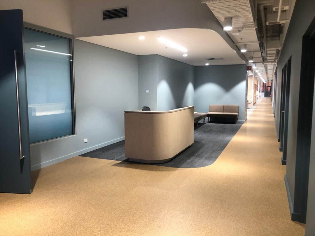 Goldline Industries COVID Fitout